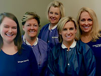 the Dr. Koch dental team