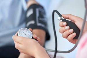 Your dentist in Cary will check your blood pressure.