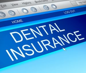 dental insurance on computer screen